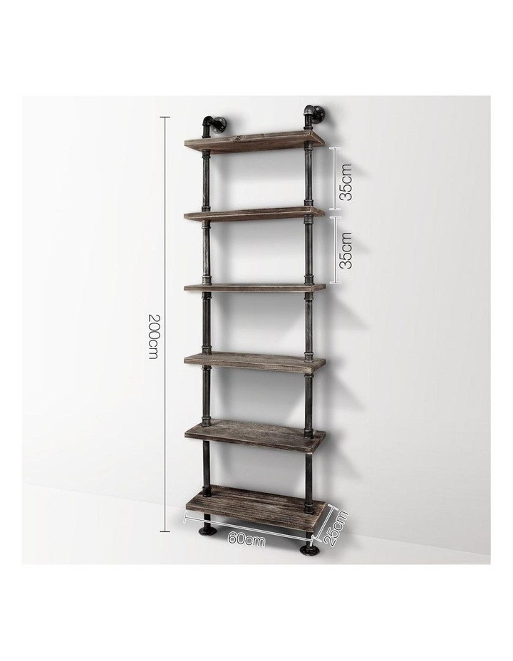 6 Level DIY Wooden Bookshelf image 2