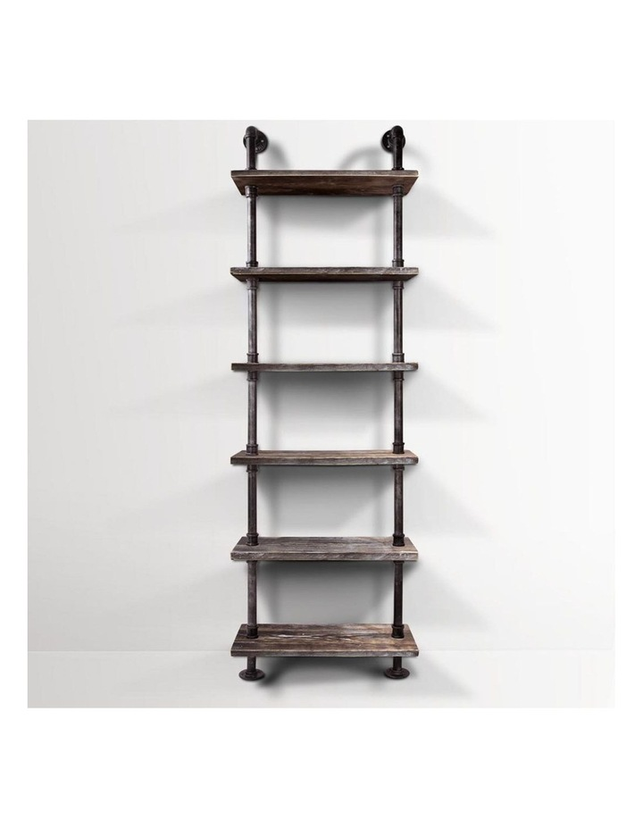 6 Level DIY Wooden Bookshelf image 3