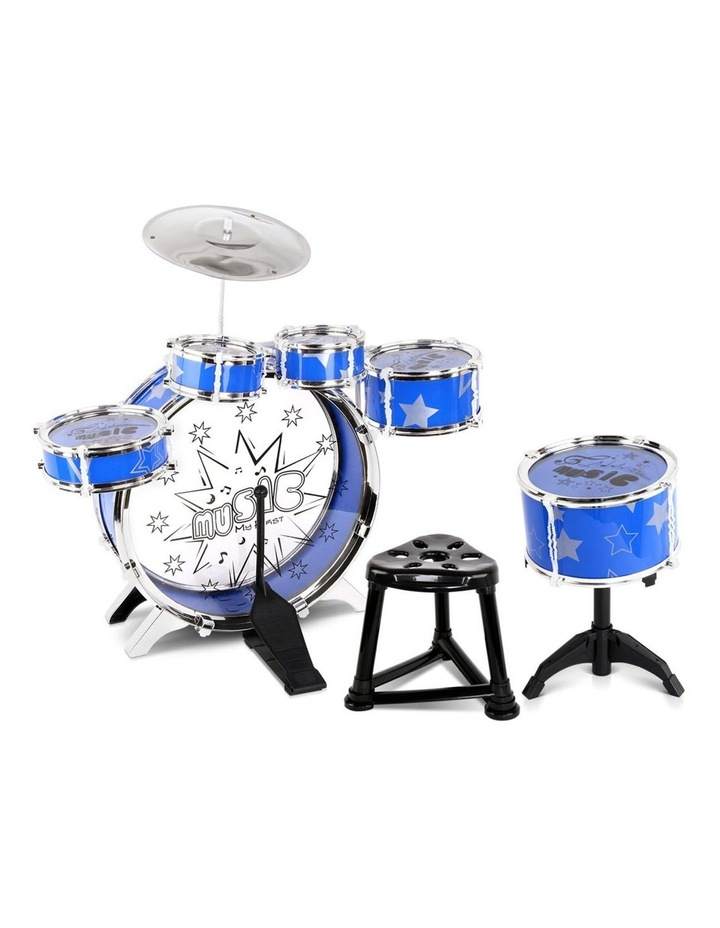 11 Piece Kids Drum Set image 1