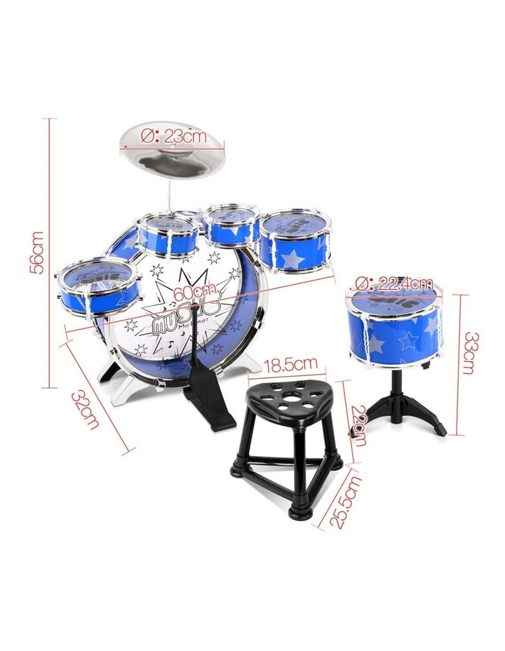 11 Piece Kids Drum Set image 2