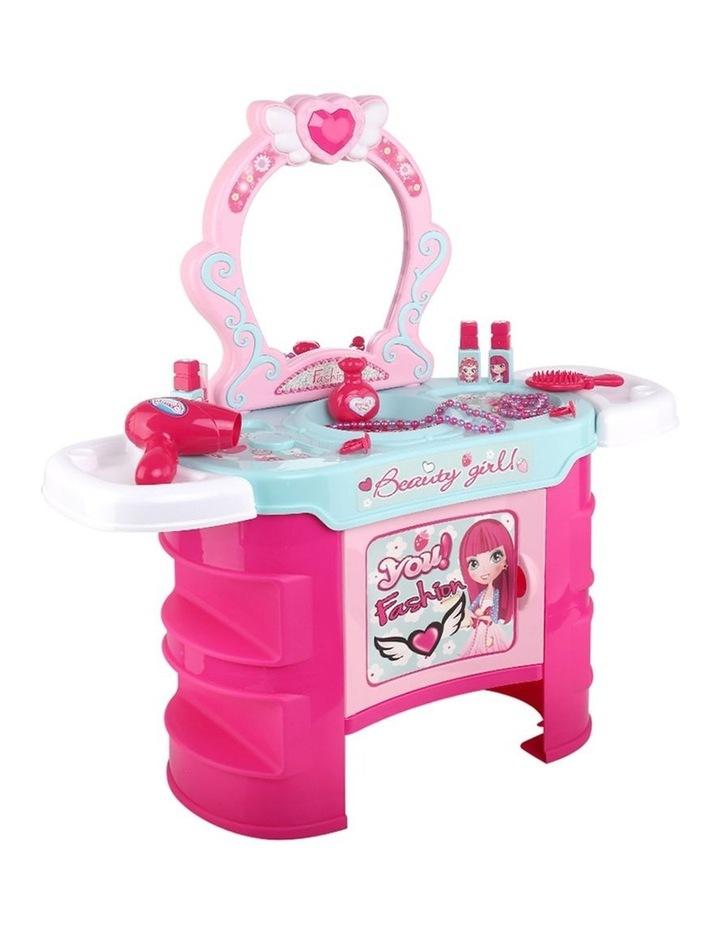 Makeup Desk Play Set - Pink image 1