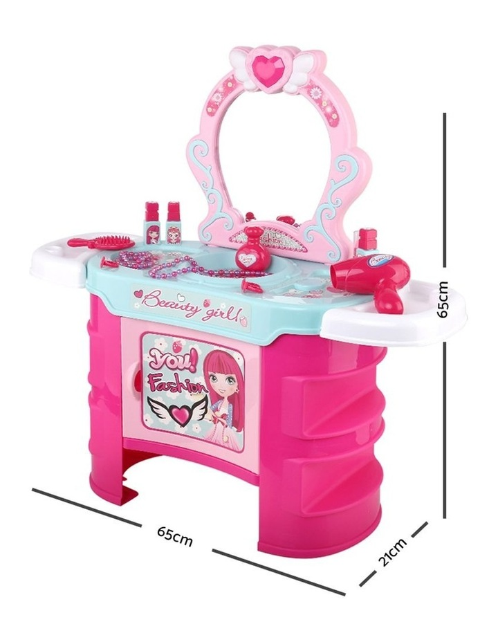Makeup Desk Play Set - Pink image 2