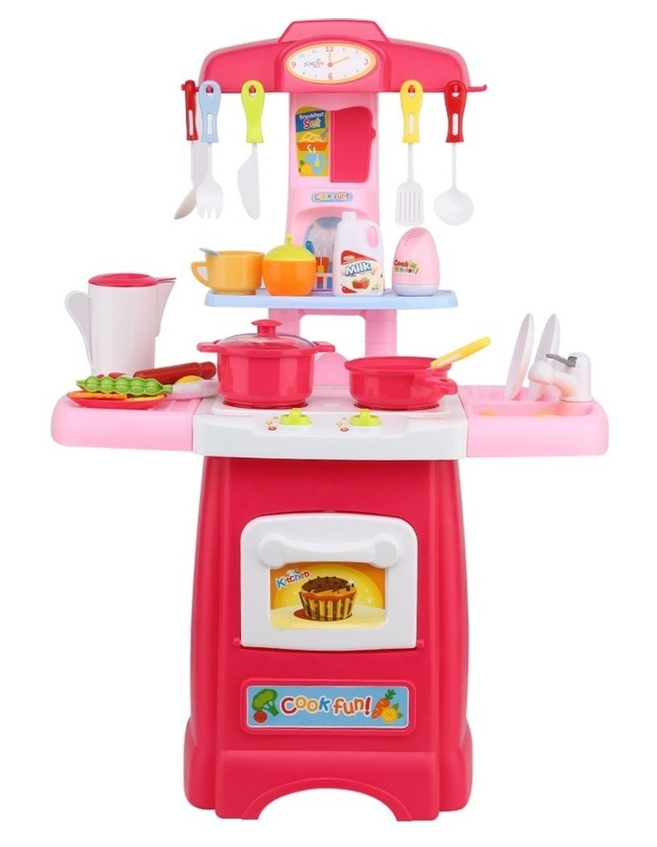 Kids Kitchen and Trolley Playset image 4