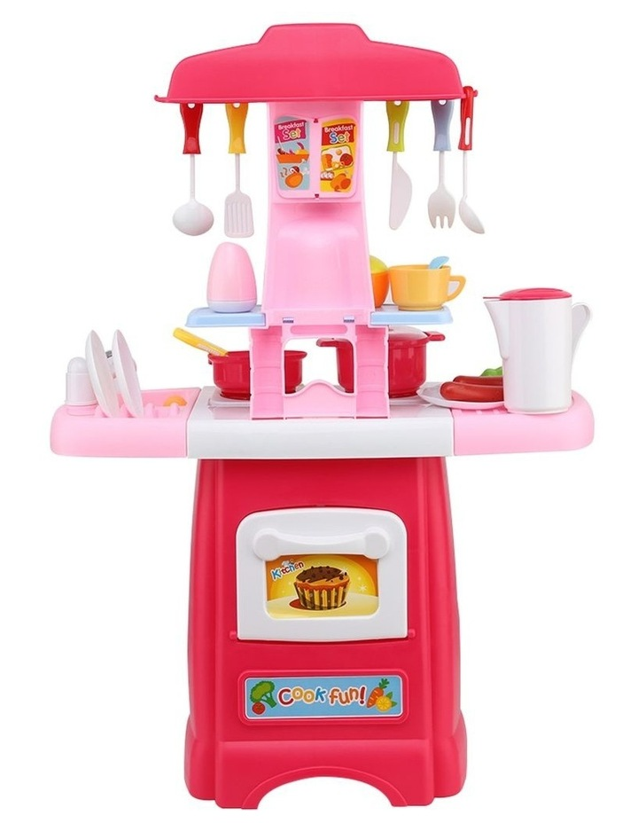 Kids Kitchen and Trolley Playset image 6