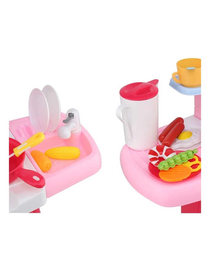 Kids Kitchen and Trolley Playset image 7