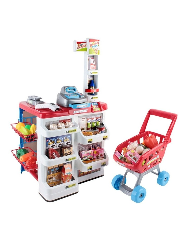 24 Piece Kids Super Market Toy Set image 1