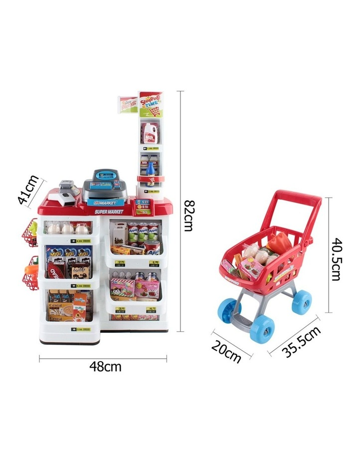 24 Piece Kids Super Market Toy Set image 2