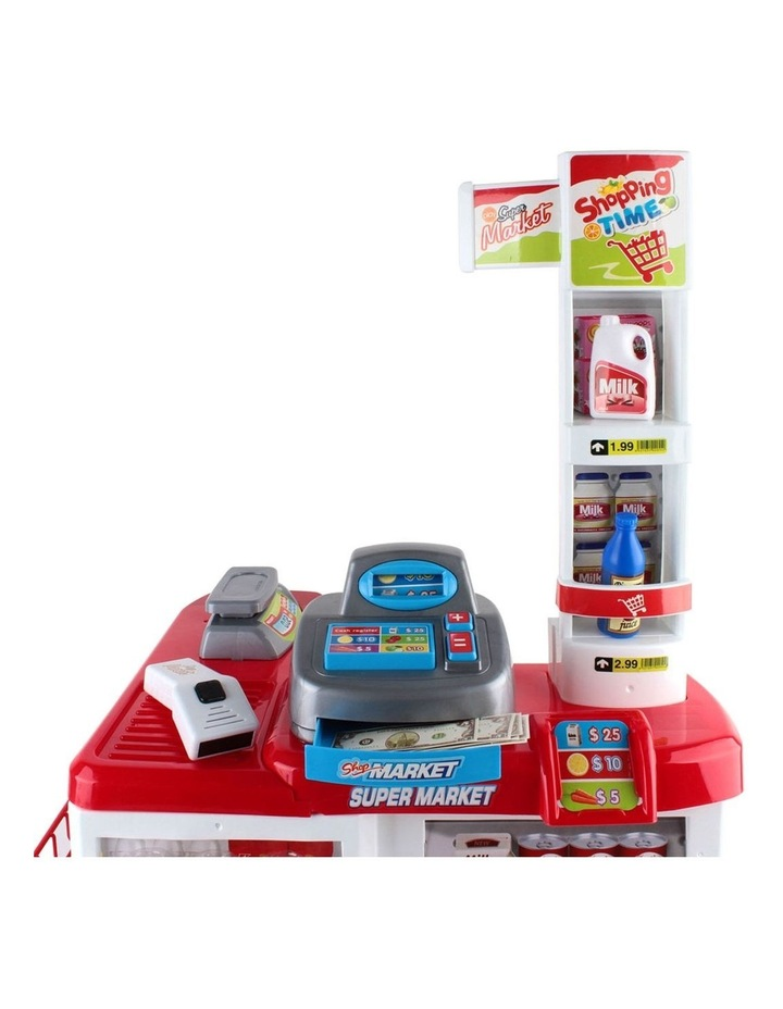 24 Piece Kids Super Market Toy Set image 4