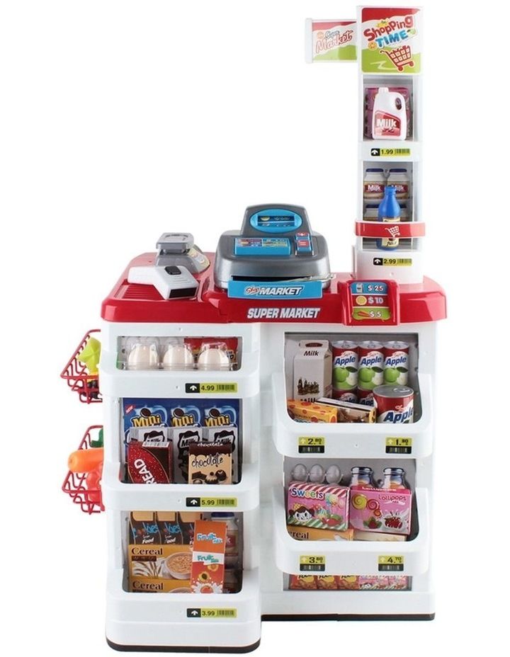 24 Piece Kids Super Market Toy Set image 5