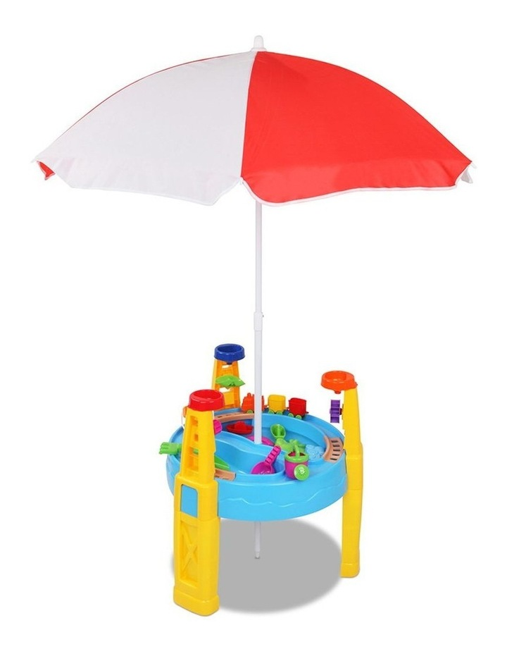26 Piece Kids Umbrella and Table Set image 1
