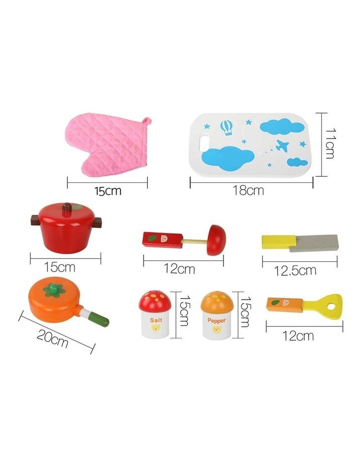 10 Piece Kids Kitchen Play Set image 3