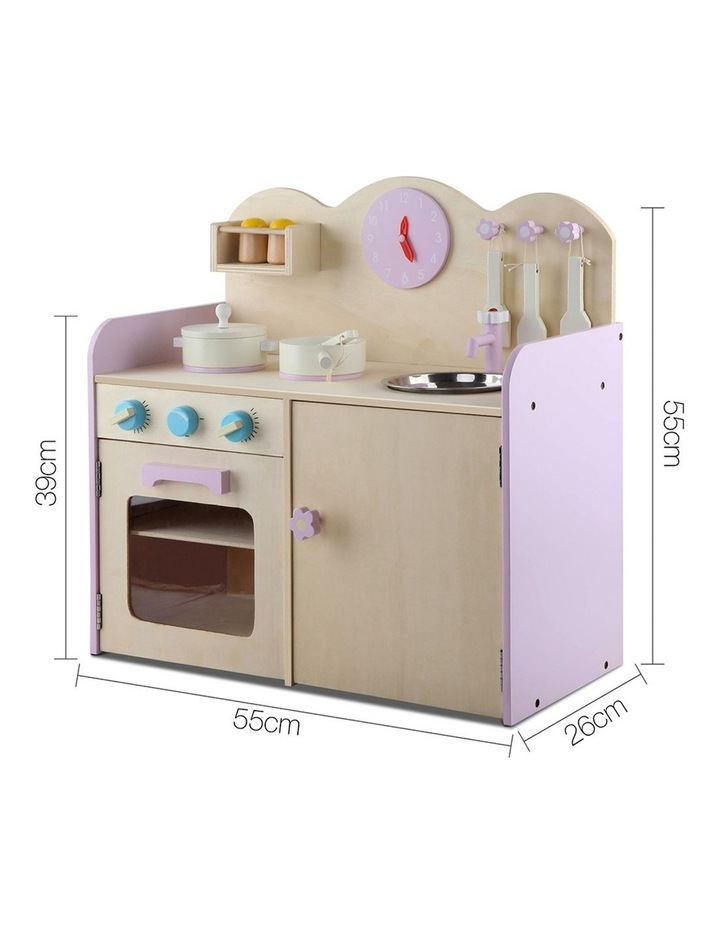 Kids Wooden Kitchen Play Set image 2