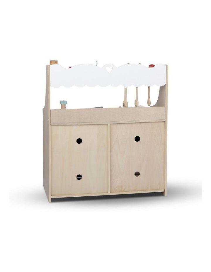 Wooden Kitchen Play Set image 4
