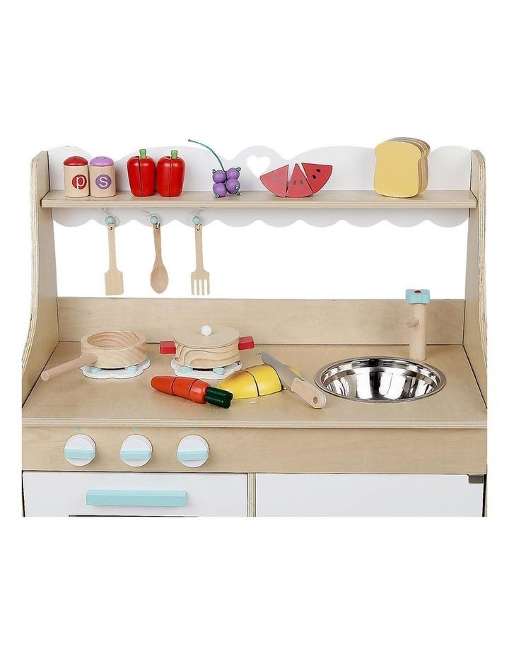 Wooden Kitchen Play Set image 6