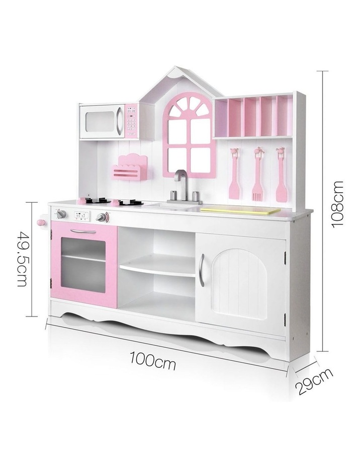 Wooden Kitchen Play Set image 2