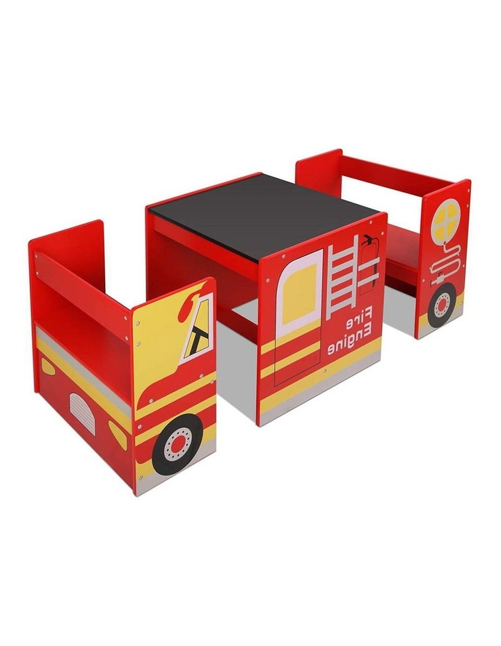 Fire Truck Table and Chair Set image 1