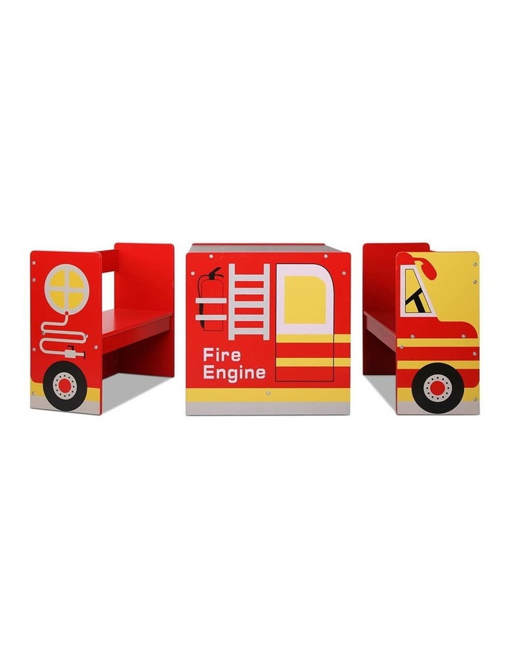 Fire Truck Table and Chair Set image 7