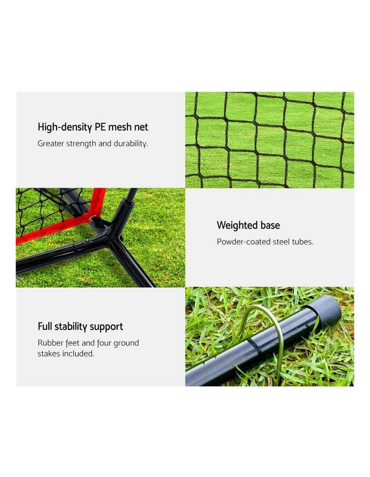 Portable Baseball Softball Practice Sports Tennis Training Net Stand image 3
