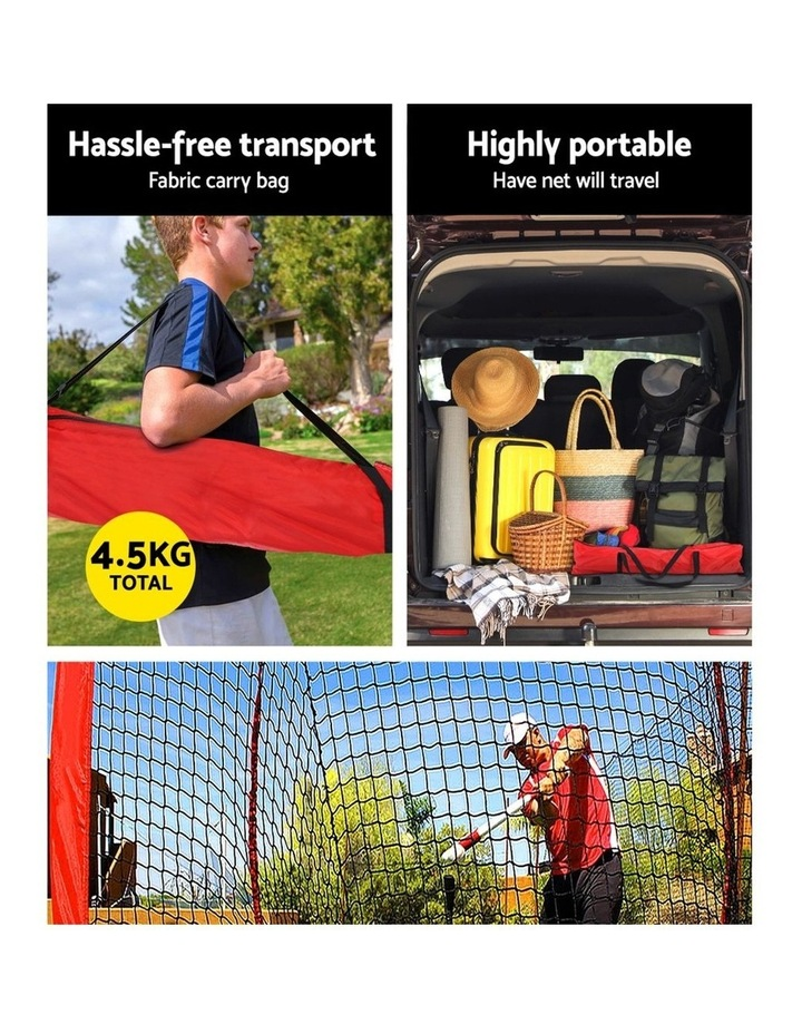 Portable Baseball Softball Practice Sports Tennis Training Net Stand image 5