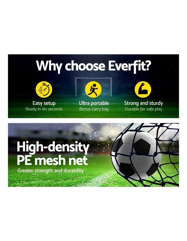 Portable Soccer Football Goal Net Kids Outdoor Training Sports image 3
