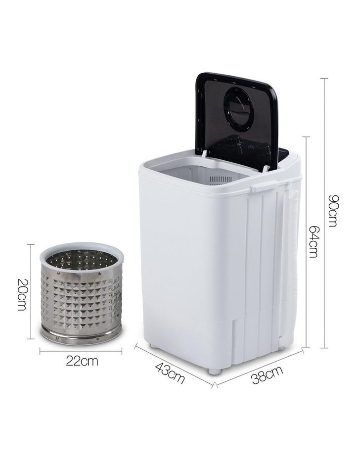 4.6KG Mini Portable Washing Machine image 2