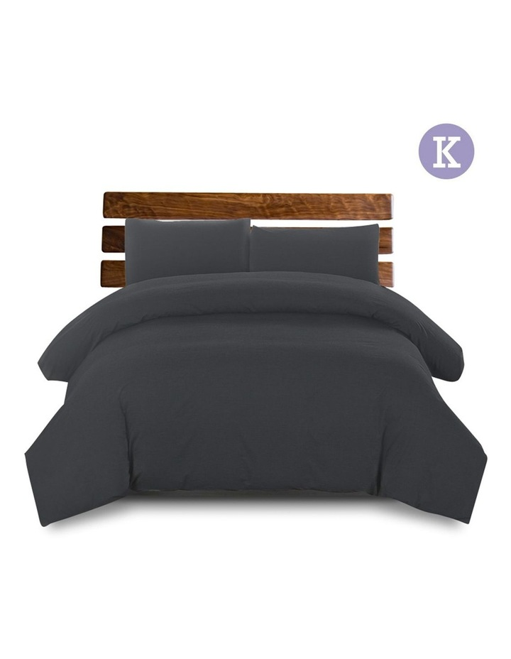 King Size Classic Quilt Cover Set image 1