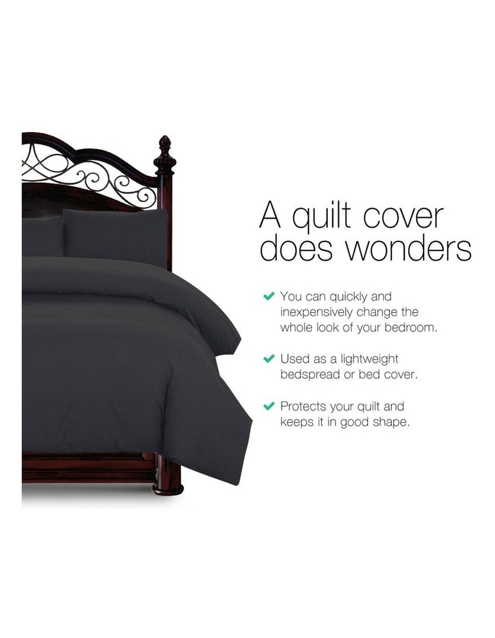 King Size Classic Quilt Cover Set image 3