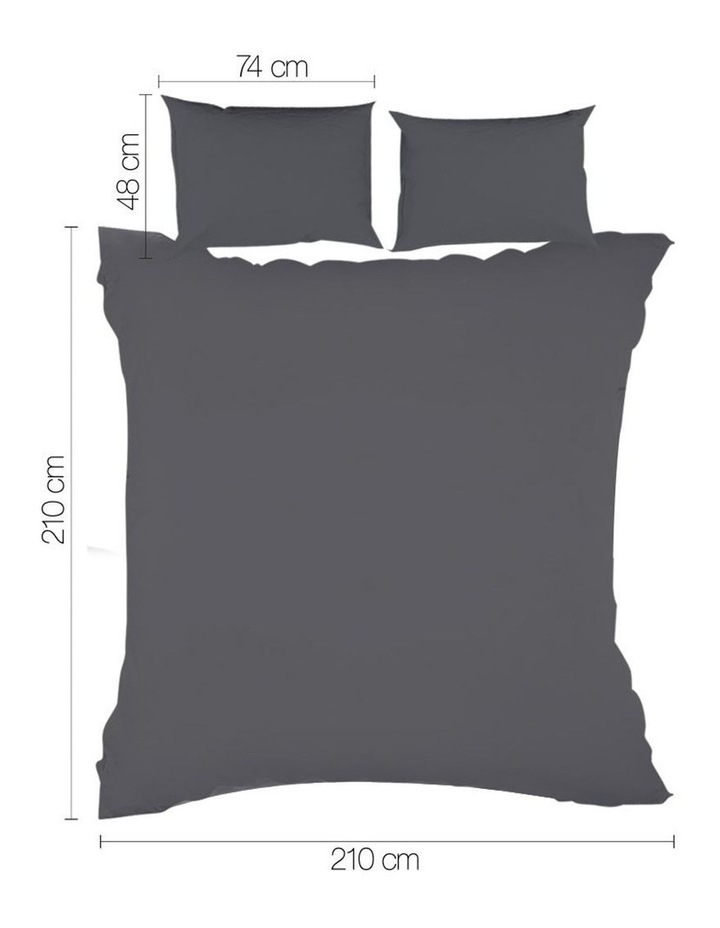 Queen Size Classic Quilt Cover Set image 2