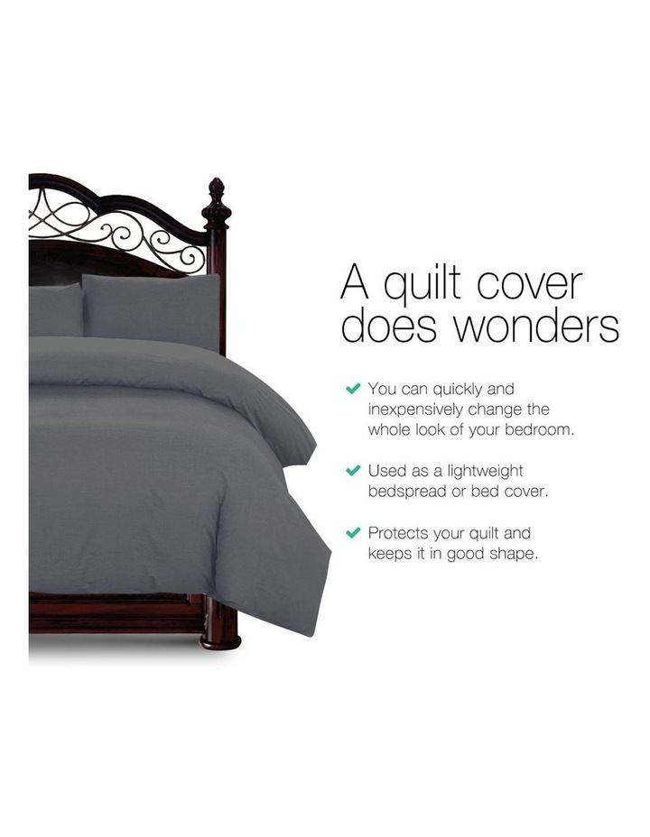 Queen Size Classic Quilt Cover Set image 3