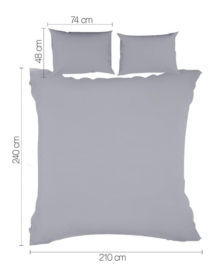 King Classic Quilt Cover Set image 2