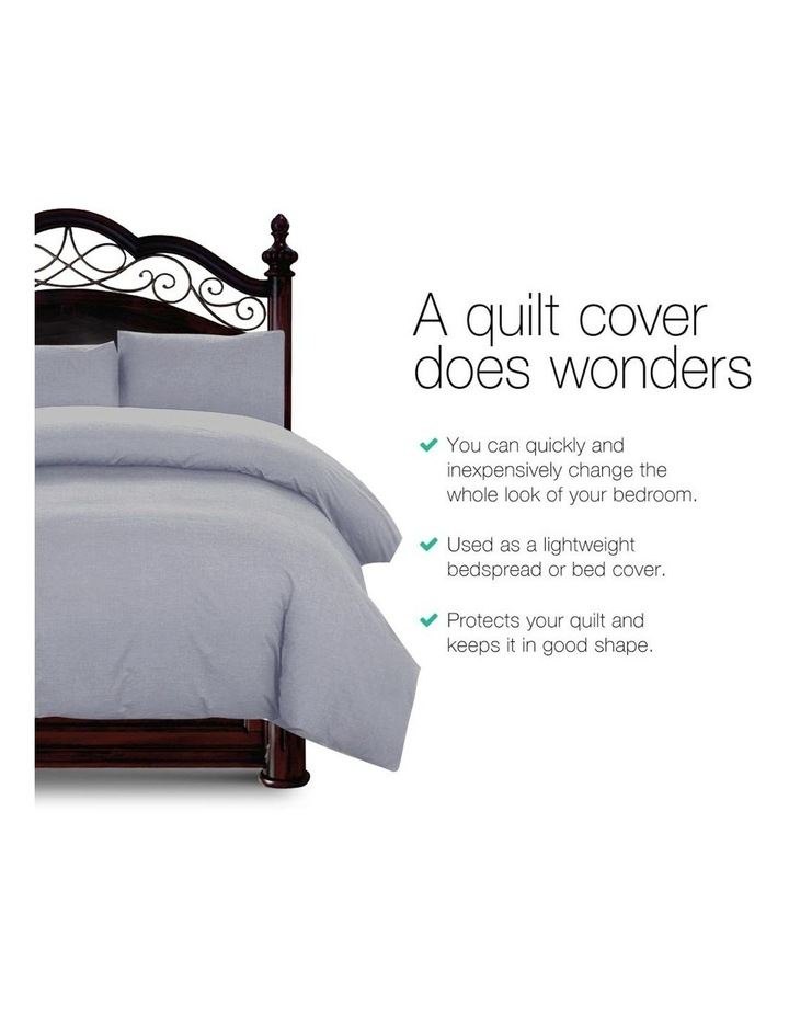 King Classic Quilt Cover Set image 3