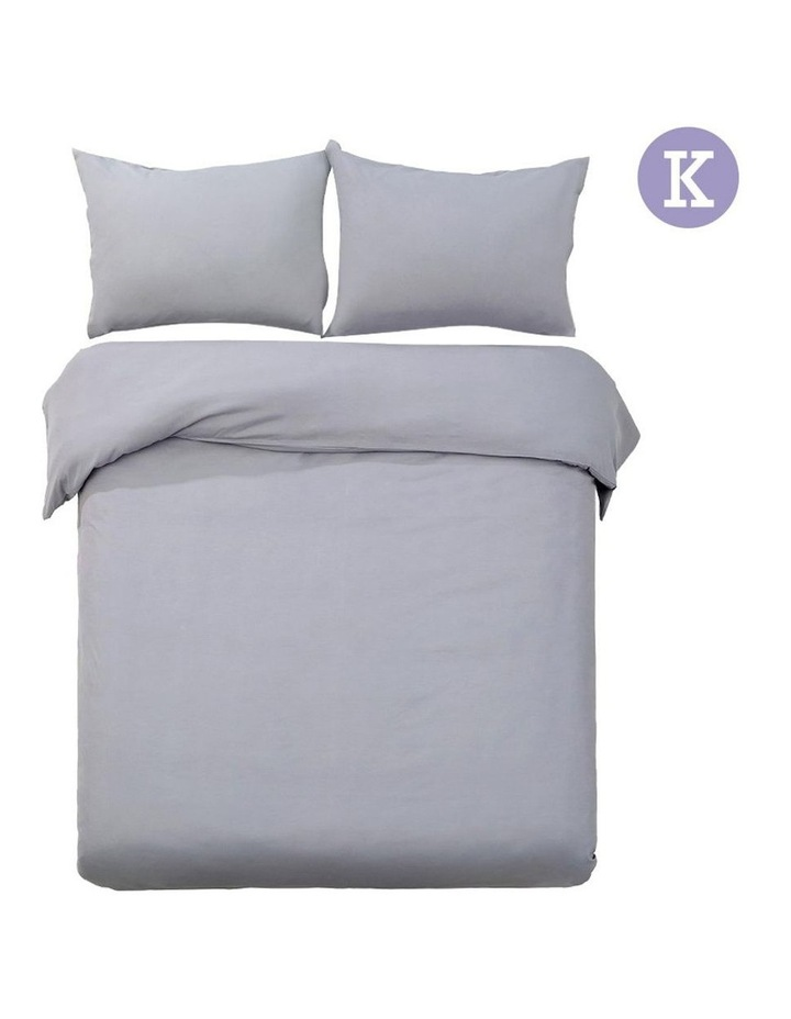 King Classic Quilt Cover Set image 4