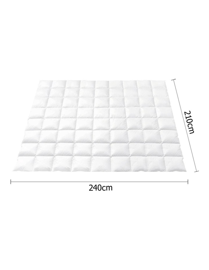 King Size Light Weight Duck Down Quilt image 2