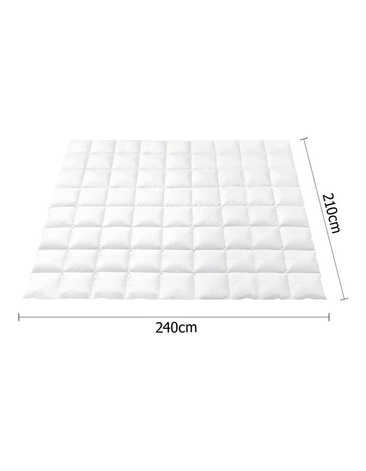 Goose Down Feather Winter Quilt Cover Duvet Doona 800GSM image 2
