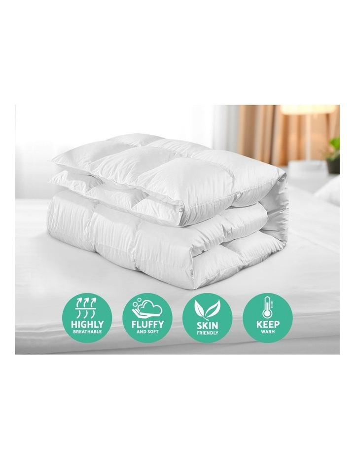 Goose Down Feather Winter Quilt Cover Duvet Doona 800GSM image 5