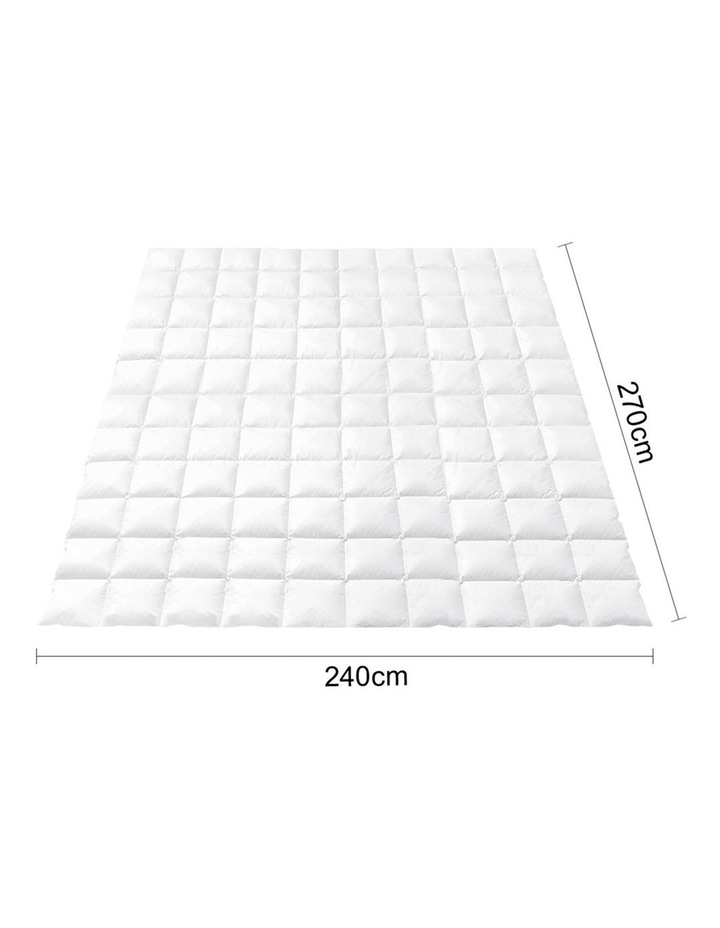 800GSM Goose Down Feather Winter Quilt Cover Duvet Doona image 2