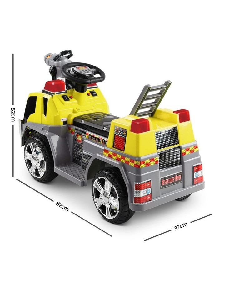 Fire Truck Electric Toy Car image 2