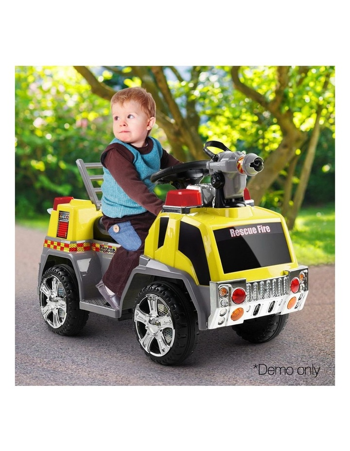 Fire Truck Electric Toy Car image 3
