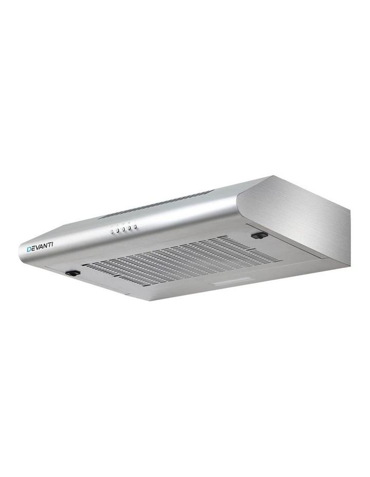 Fixed Range Hood Rangehood Stainless Steel Kitchen Canopy 60cm 600mm image 1
