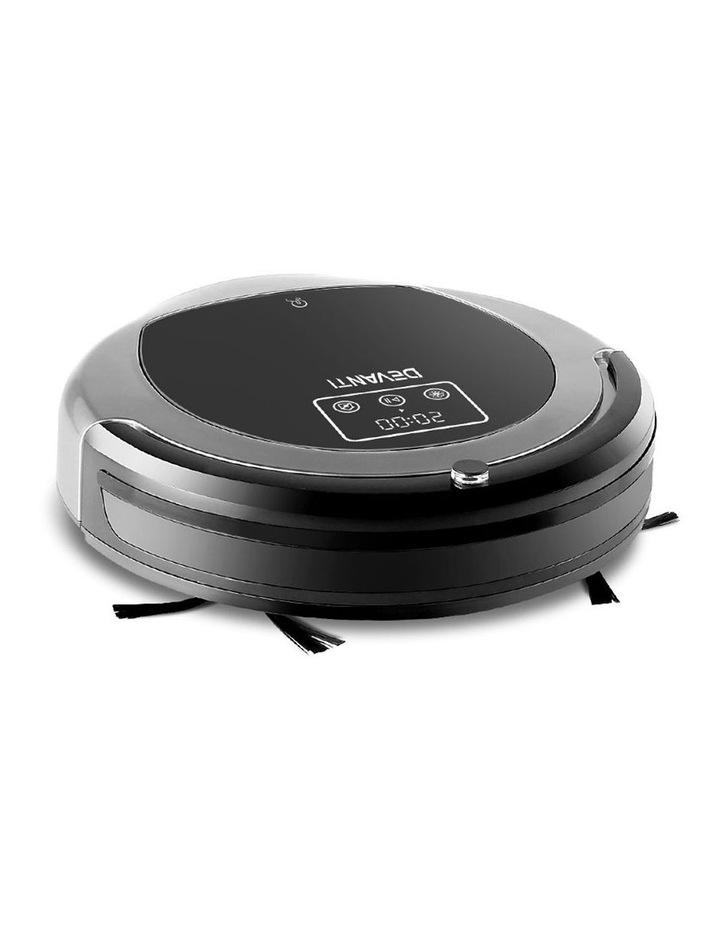 Robotic Vacuum Cleaner - Black & Grey image 1