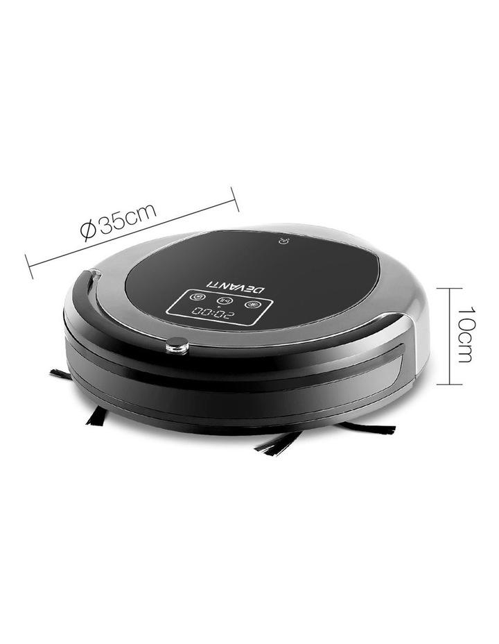 Robotic Vacuum Cleaner - Black & Grey image 2