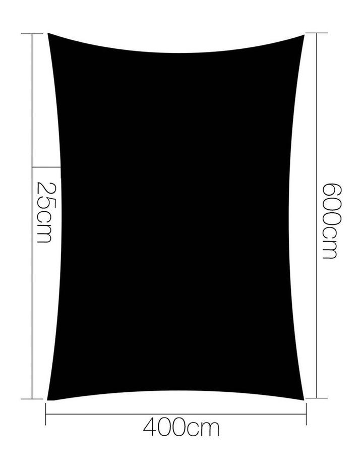 Sun Shade Sail Cloth Shadecloth 280gsm 4x6m image 2