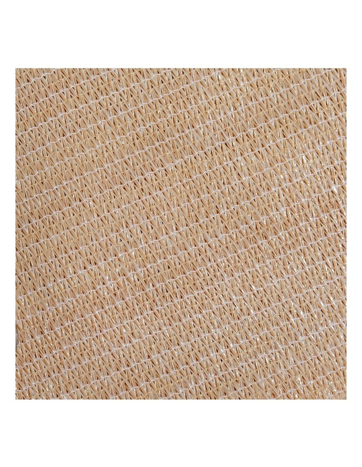 Sun Shade Sail Cloth Shadecloth Rectangle Heavy Duty Sand Canopy 2x4m image 4