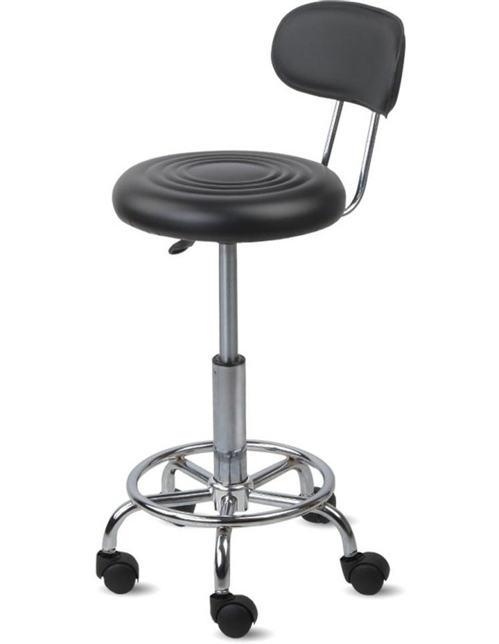 PU Leather Swivel Chair with Backrest image 3