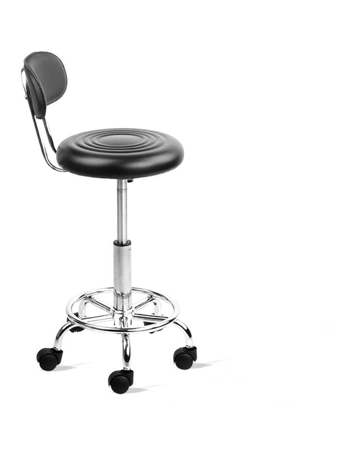 PU Leather Swivel Chair with Backrest image 4