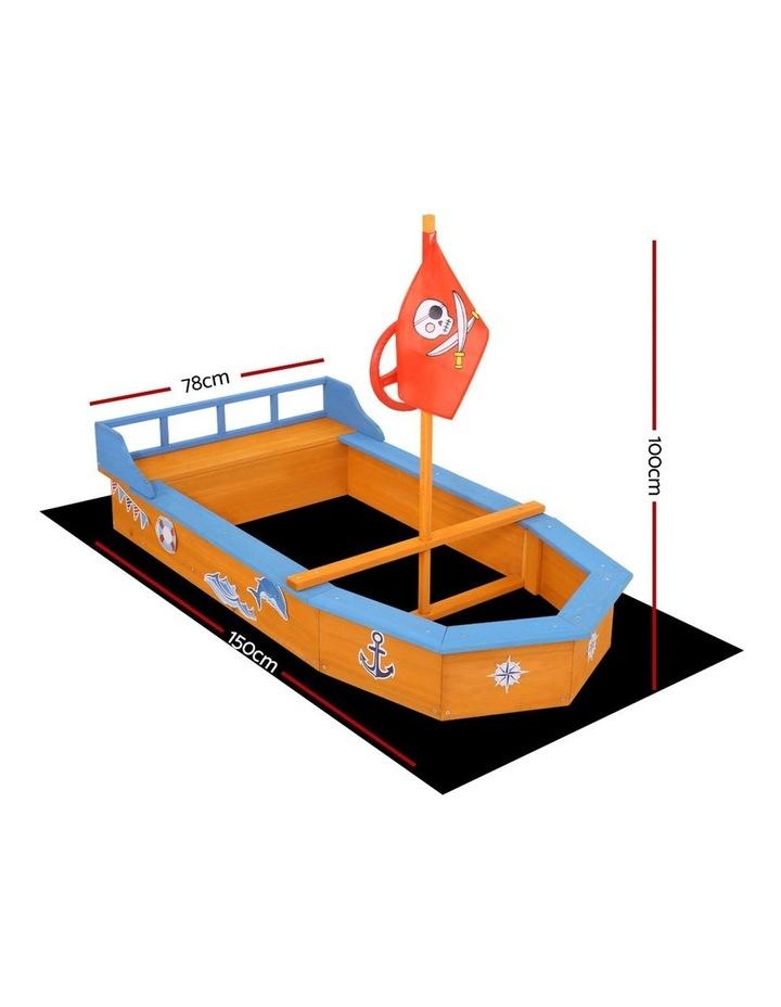Boat-Shaped Sand Pit image 2