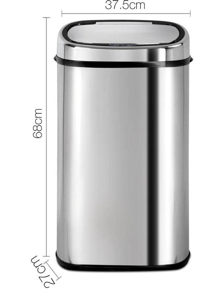 58L Stainless Steel Motion Sensor Rubbish Bin image 2