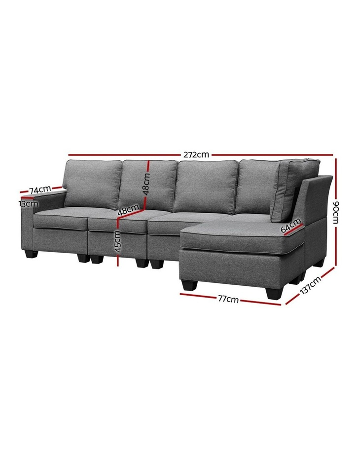 5 Seater Sofa Bed image 2