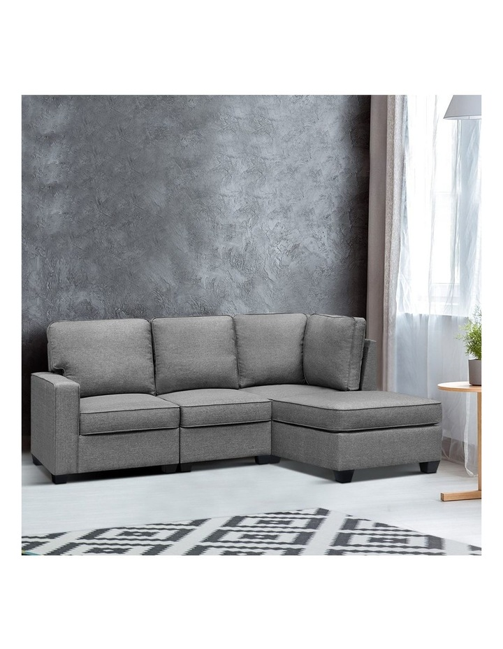 4 Seater Sofa Bed image 3