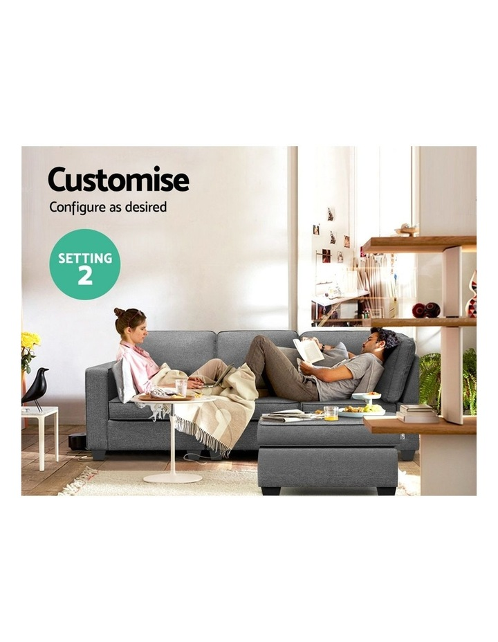 4 Seater Sofa Bed image 4